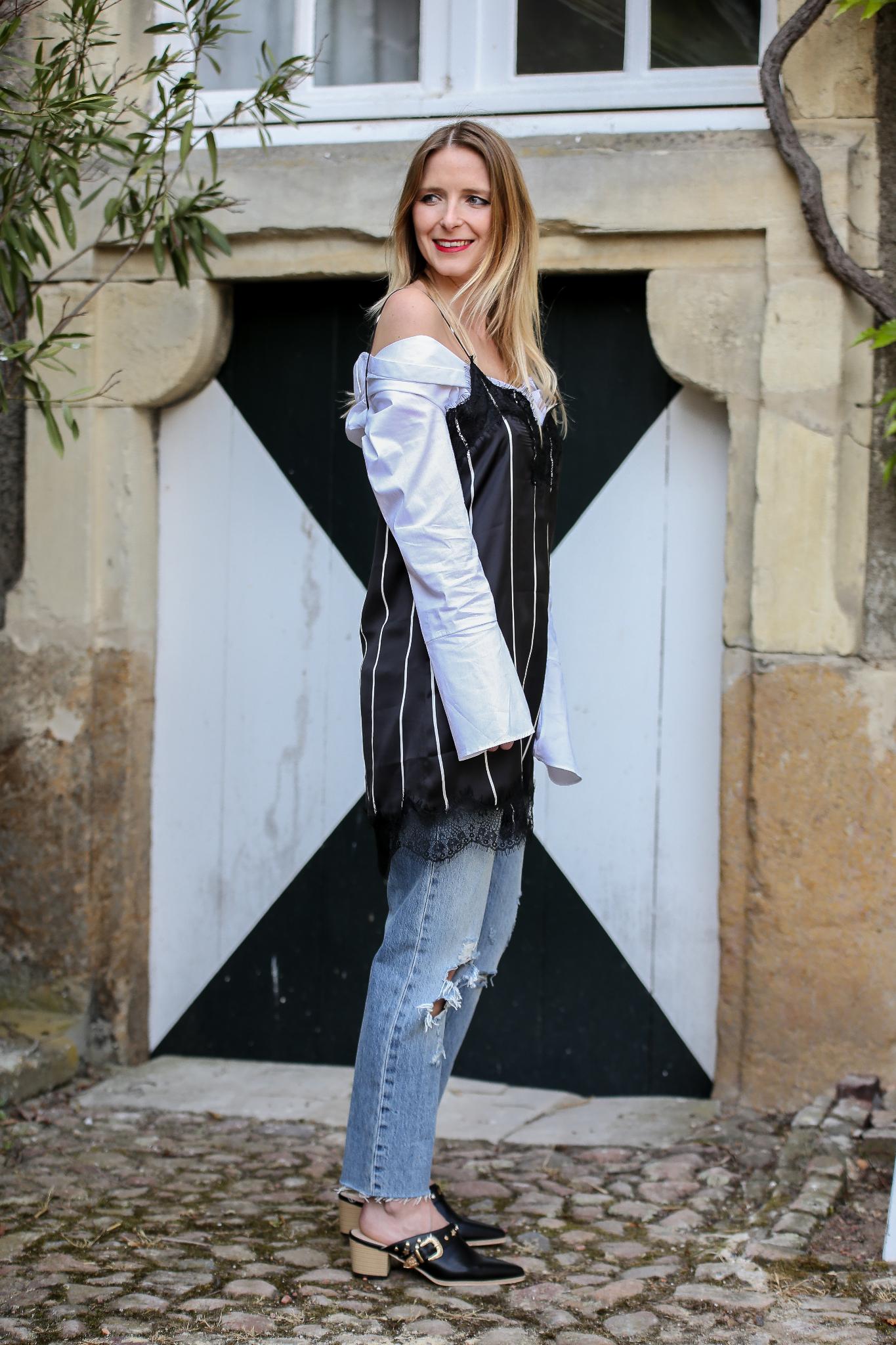 Fashion_Outfit_Off_Shoulder_Striped_Slipdress_MOD - by Monique-6