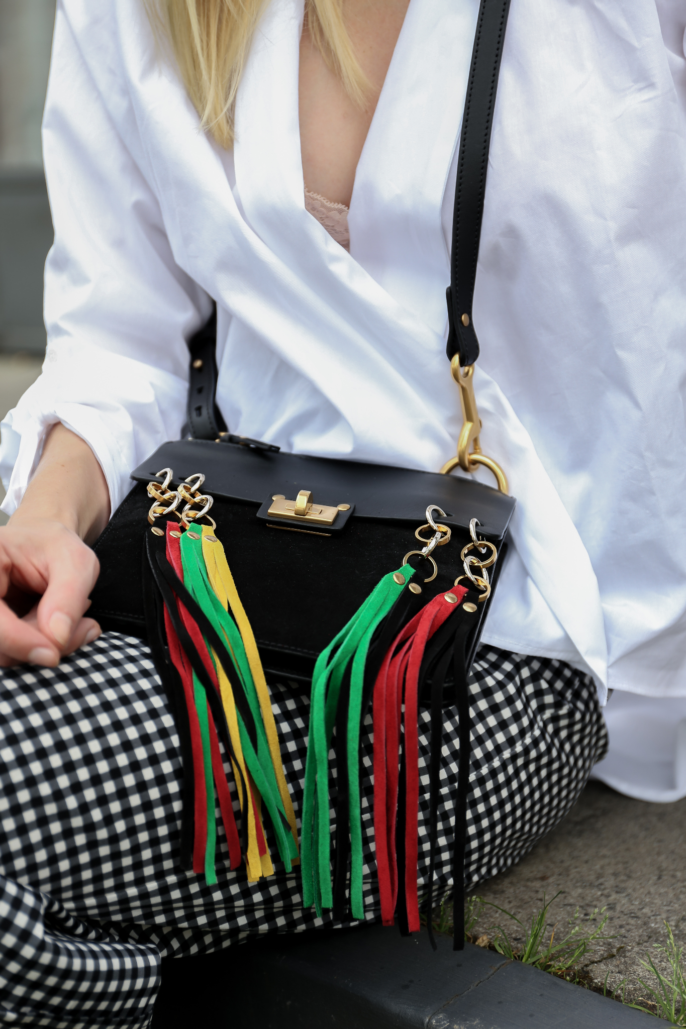 Fashion_Outfit_Chloé_Jane_Vichy_Print_MOD - by Monique_