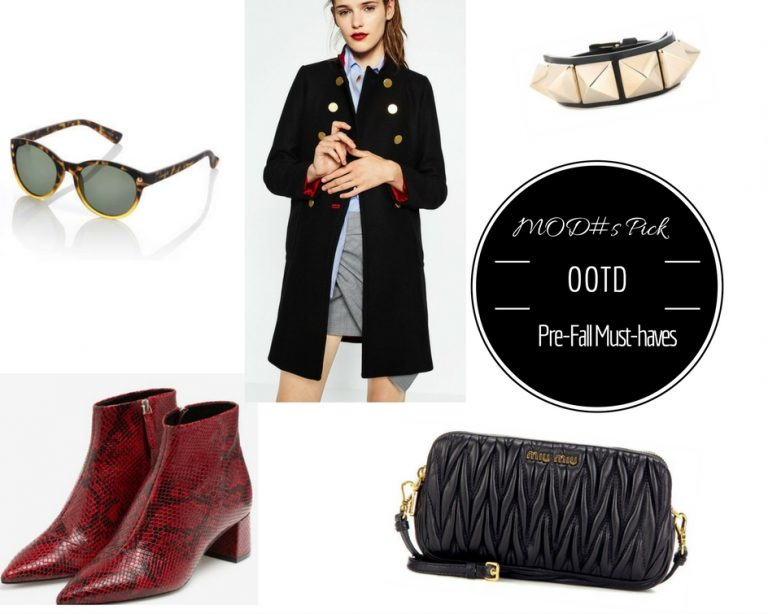 MOD#s Pick│OOTD Pre-Fall Must-haves