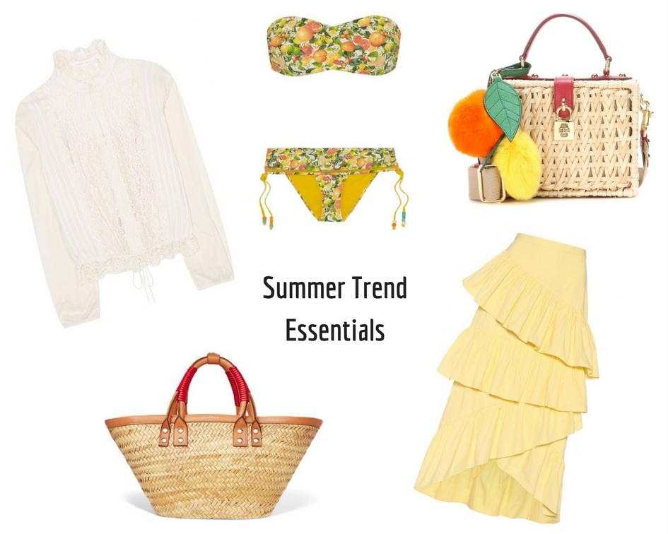 5 Summer Trend Essentials
