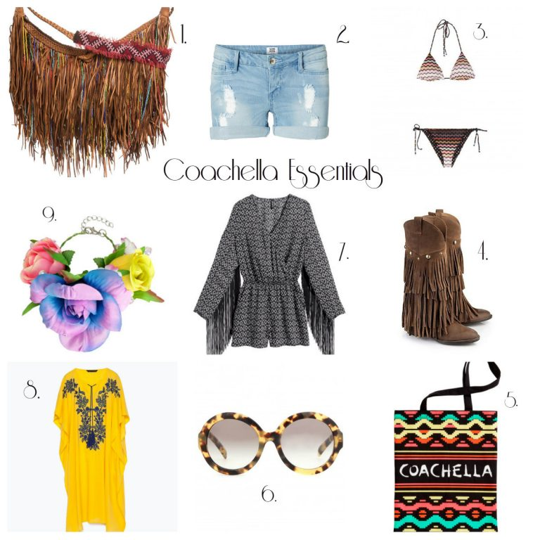 # Coachella Essentials #