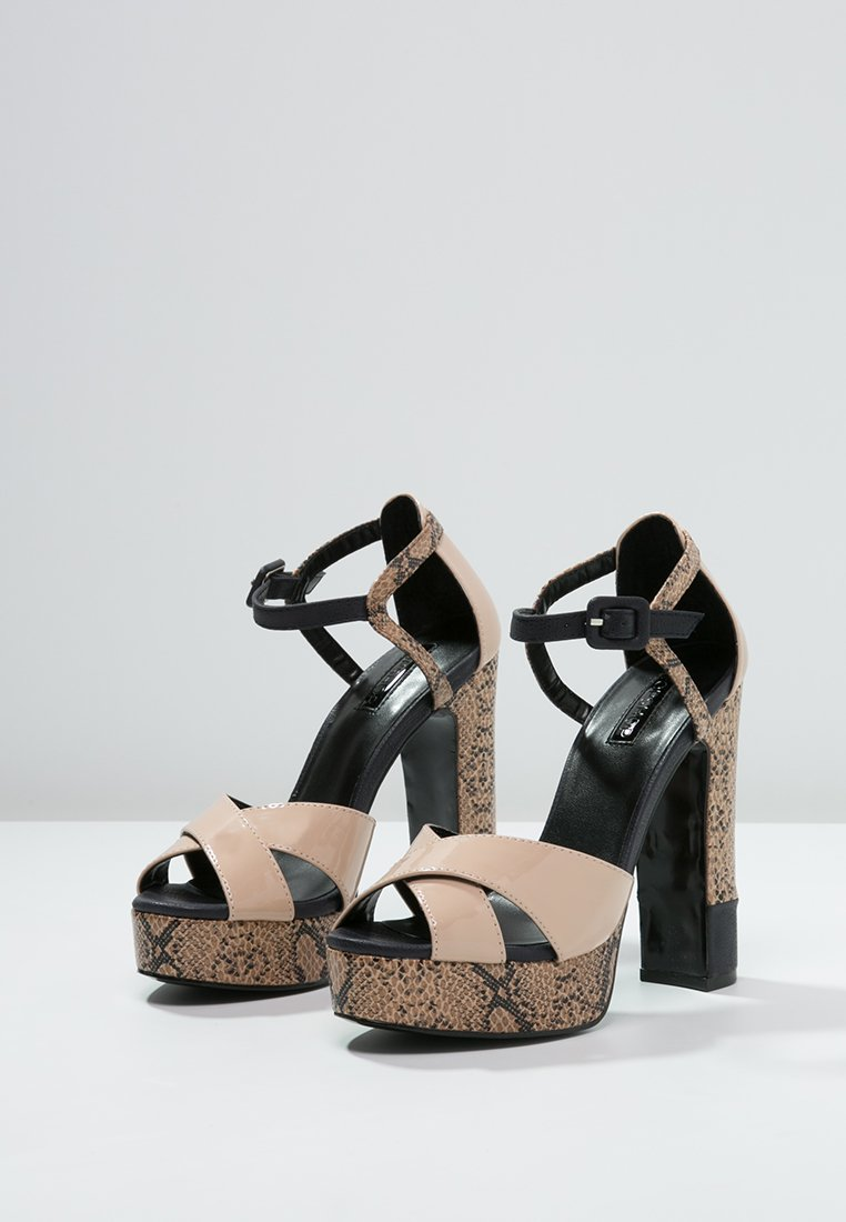 # Snap of the day: Snakeprint Plateau Heels #