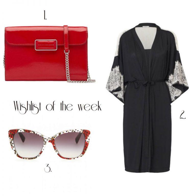 # Wishlist of the week #