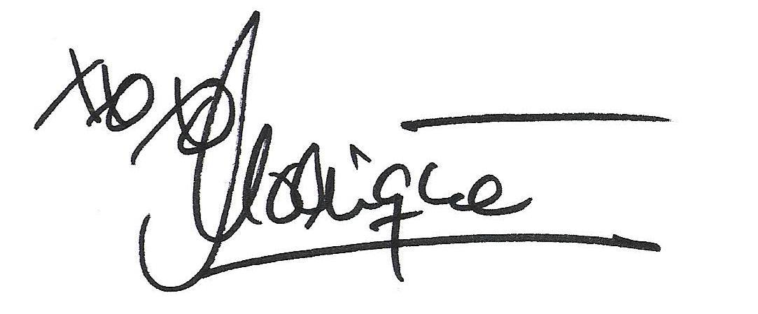 Unterschrift Monique