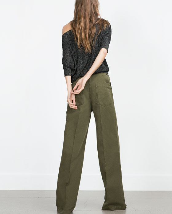 Shopping_Snap_of_the_day_Khaki_Wide_Leg_Pants_Zara_4
