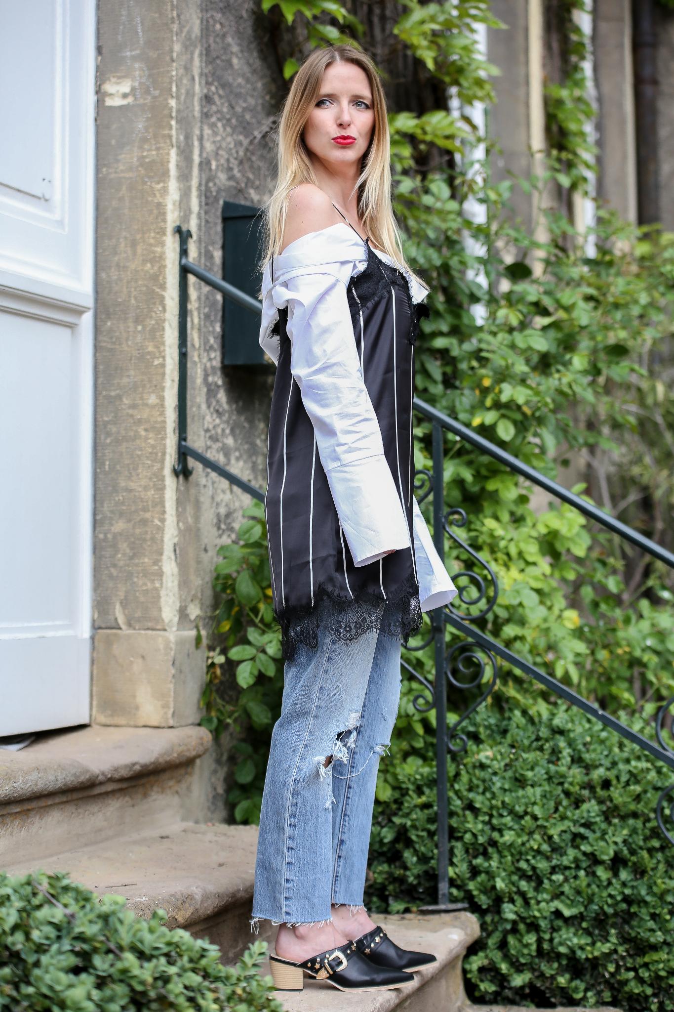 Fashion_Outfit_Off_Shoulder_Striped_Slipdress_MOD - by Monique-22