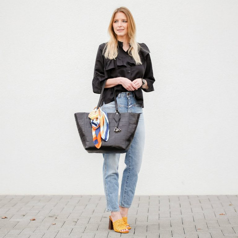 Yellow Mules│DvF Shopper