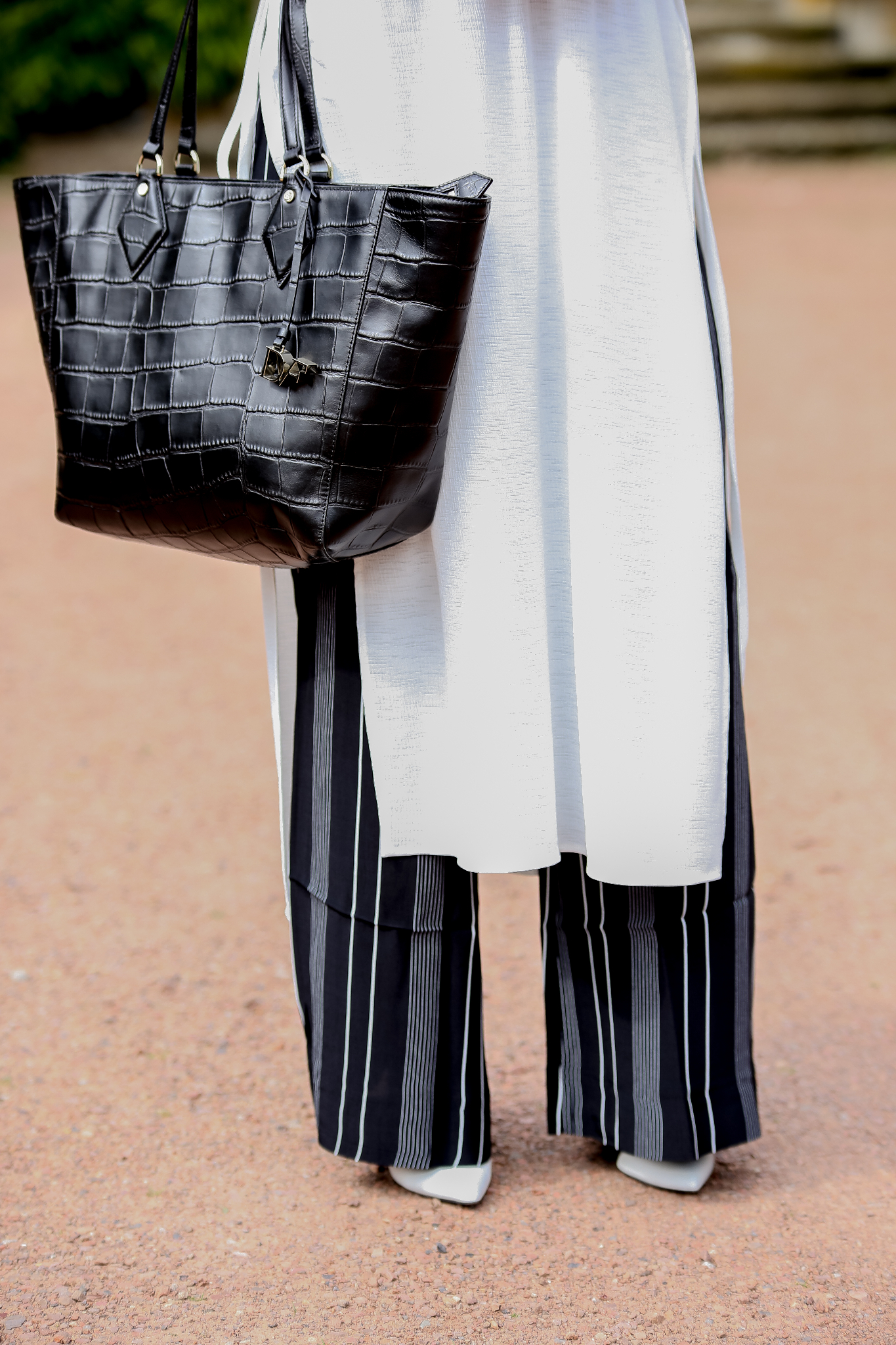 Fashion_Outfit_Long_Blouse_Striped_Palazzo_Pants_MOD - by Monique-5