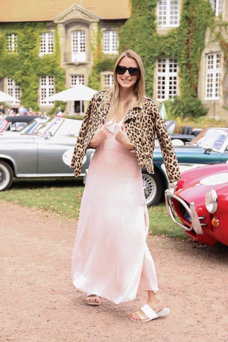 Leopard Print│Pink Maxi Dress