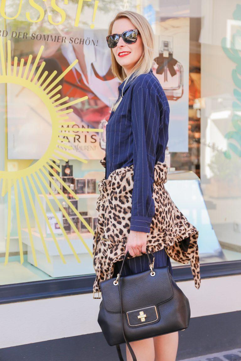 Leopard Print│Pinstripes + Mules