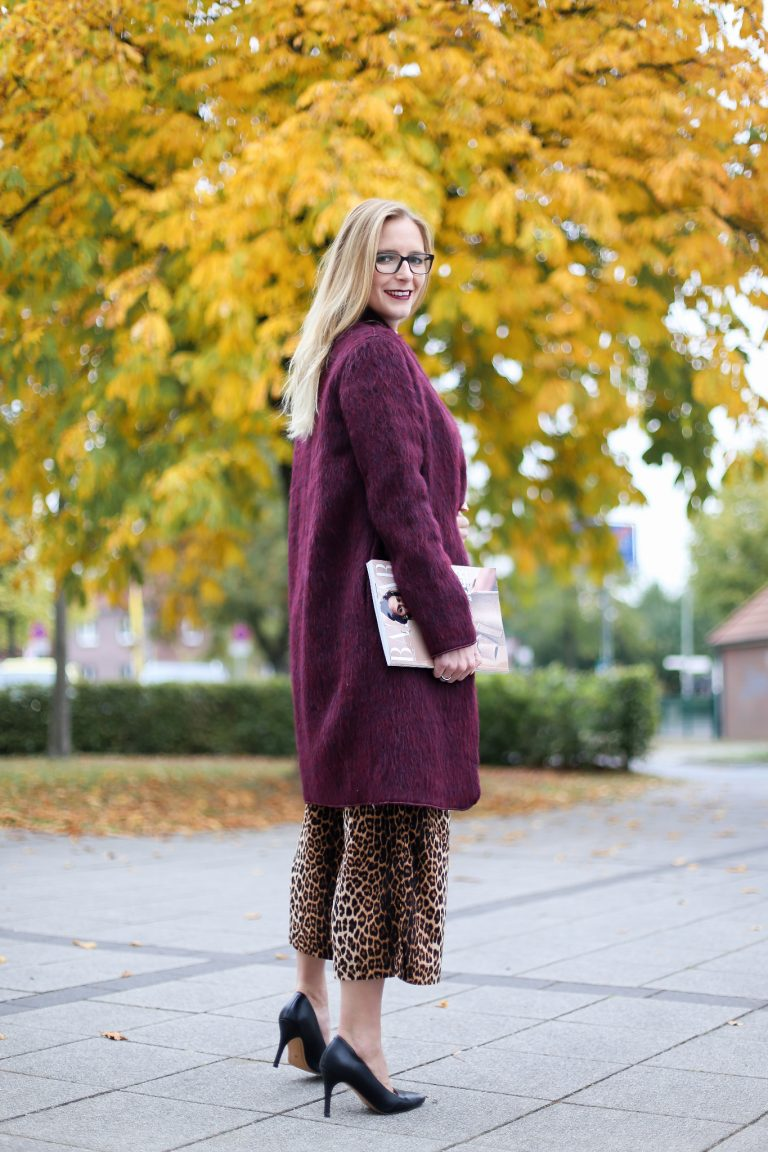 Purple Coat│Leo Culotte