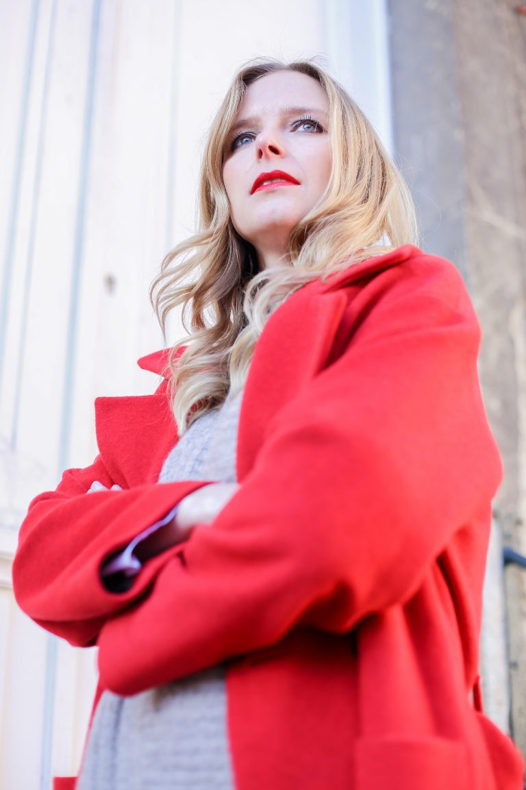 Patent Leather│Red Coat