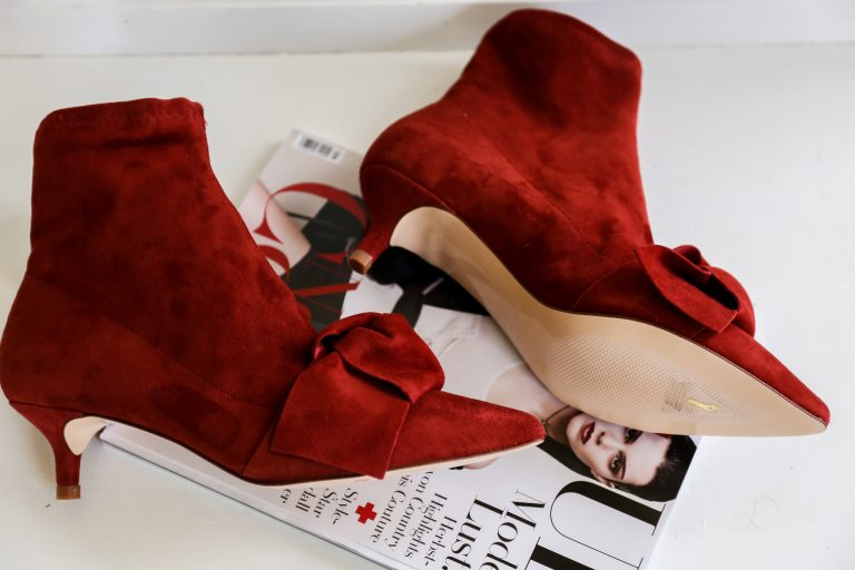 New in: Zara Red Boots